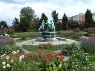 Jardim em Elsingor, Dinamarca