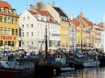 Nyhavn (Porto Novo) Kopenhagen, Dinamarca