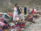 Mercado índio a caminho de Chivay