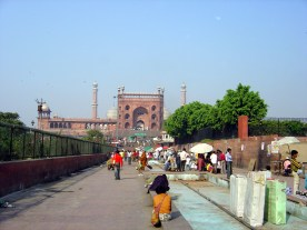 Mesquita Jamah Mashid, Old Delhi