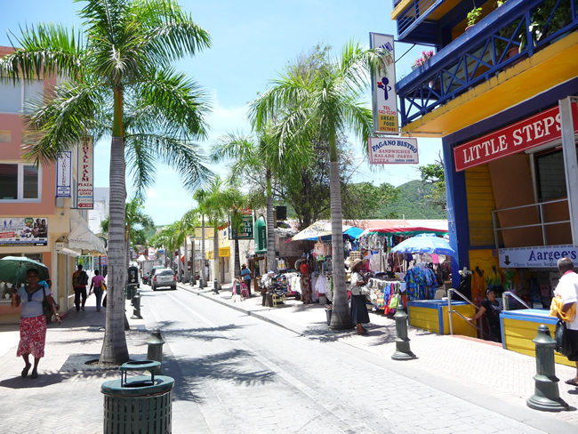 Saint-Martin, lado holandês, Caribe