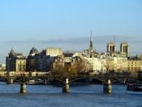 Rio Sena, em Paris, Pont des Arts