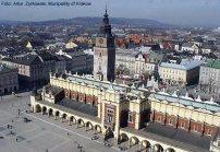 Praça principal, Cracóvia, Polônia