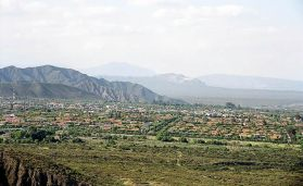 Mendoza, Argentina, vista panorâmica