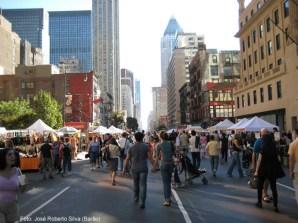 Rua de New York no verão, foto Barão