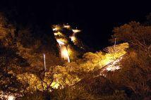 Serra do Rio do Rastro à noite