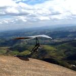 Pedra Grande, Atibaia, SP, voo de Asa Delta