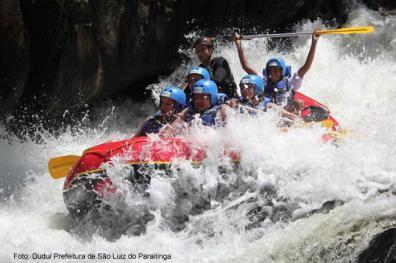 Rafting em São Luiz do Paraitinga, SP