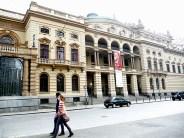 Lateral do Teatro Municipal de São Paulo