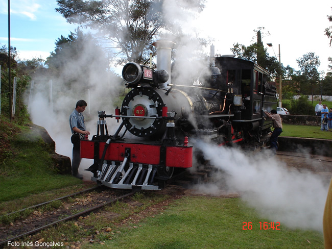 Trem histórico entre São João del Rey e Tiradentes