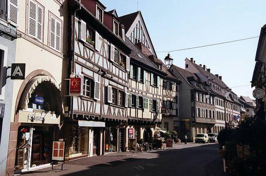 Cidade de Colmar, na Alsácia