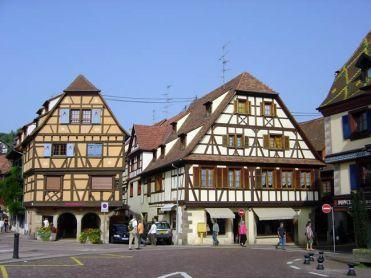 Obernai Alsácia. France
