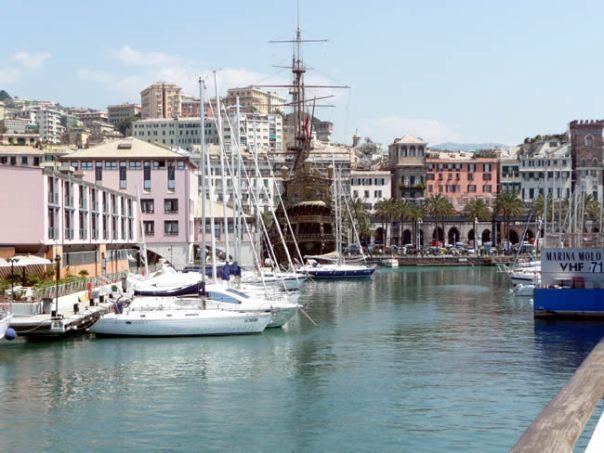 Porto de Gênova, Riviera Italiana