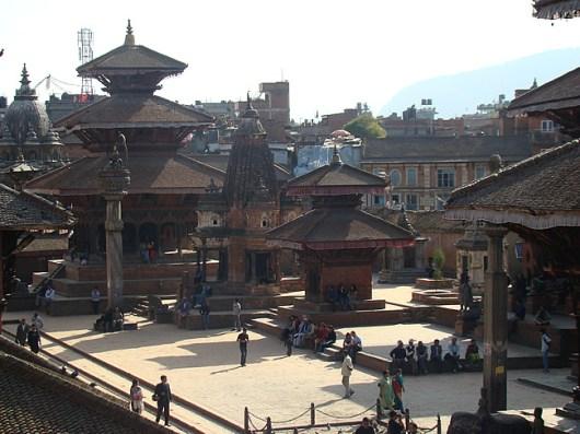 Patan, praça principal, Nepal