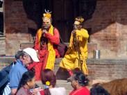 Shadus turísticos em Katmandu