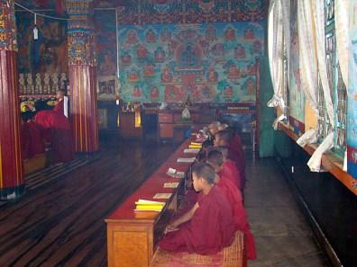 Templo budista em Pokhara