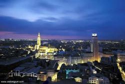 Antuerpia à noite, Bélgica