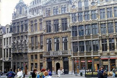 Prédio histórico na Grand Place, Bruxelas