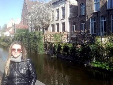 Foto -Ana Laura, autora da matéria sobre Bruges