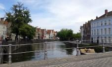 Canal em Bruges