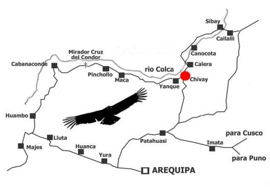 0_Mapa do Valle del Colca