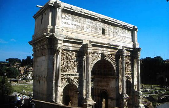 Arco da época romana