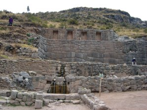 Baño del Inca, Vale Sagrado, Peru