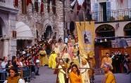 Primavera em Assis, Itália, o Calendimaggio, a Festa da Primavera