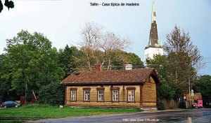 Construção típica, Tallinn, Estônia