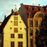 Construções típicas de Riga, Letônia