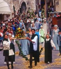 Festa do Calendimaggio em Assis, Umbria