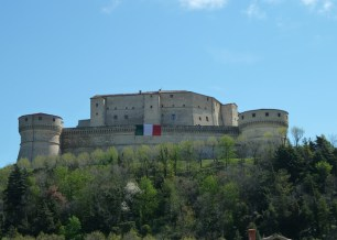 Fortaleza de San Léo, no Marche, Itália
