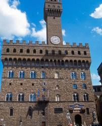 Piazza de La Signoria, em Florença