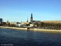 Panorama de Riga, Letônia