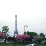Paris, França, na primavera