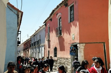 Potosí, Bolívia, a mais de 4.000 msi