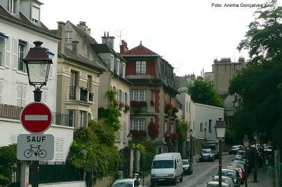 Rua em Montmartre, Paris
