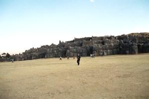 Sacsuayaman, vista panorâmica, Vale Sagrado.