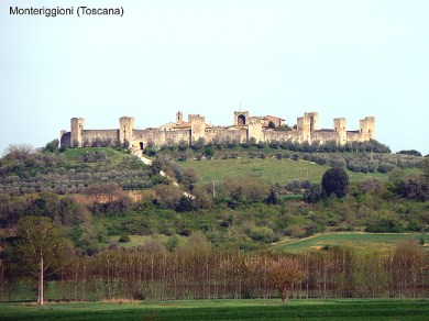 Toscana, Monteriggioni