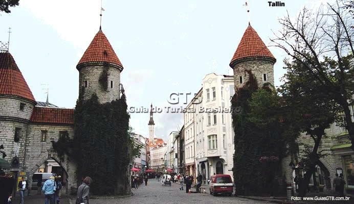 Torres medievais, Tallin, Estônia