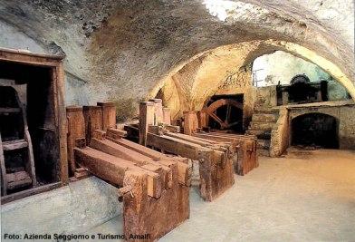 Amalfi, fábrica artesanal de papel, Museo de la Carta