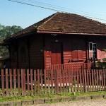 Casa típica em Paranapiacaba