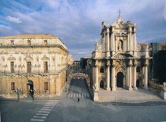 Catedral de Siracusa, Sicília
