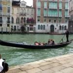 Gôndola no Canal Grande, Veneza -