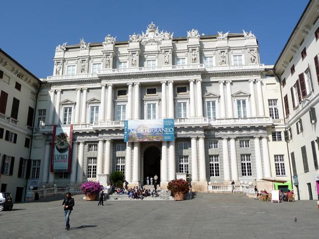Palazzo Ducale, Gênova, Itália