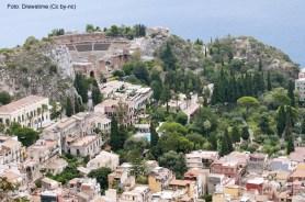 Teatro Greco-Romano de Taormina, Sicília, Itália