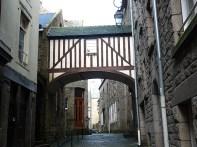 Bretanha, Saint Malo, rua
