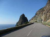 Cape Corse, estrada costira ocidental