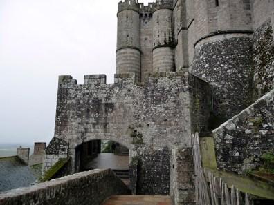 Normanda, Mont St-Michel, abadia