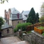 Normanda, Mont St-Michel, jardins
